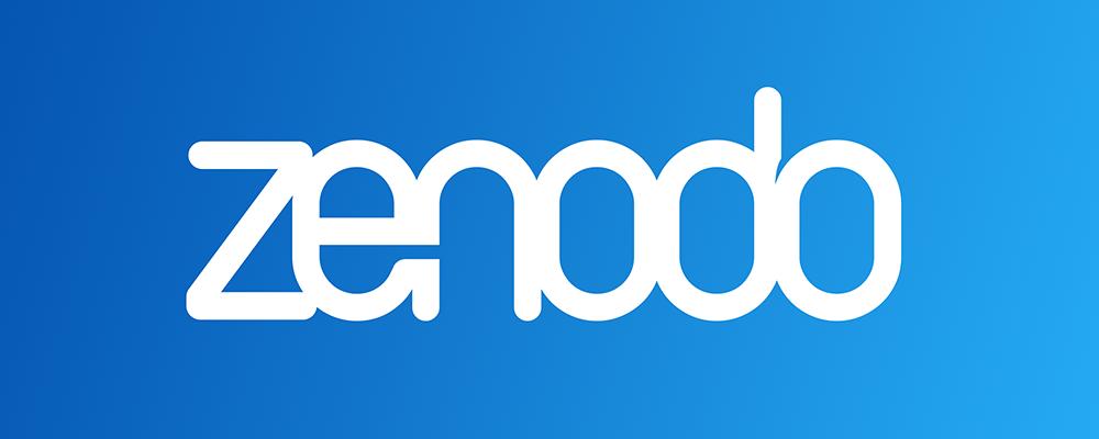 Hasil gambar untuk zenodo logo